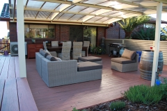 C Outdoor Entertaining Modwood Deck Screening and Optimo Awning 3