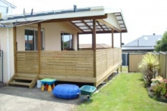 G Family Timber Enclosed Deck